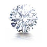 0.51 Carat Round Shaped, VVS2 Excellent Cut Diamond at Facets Singapore